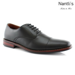 Zapatos para Hombre FA-KEVIN Black Mayoreo Wholesale Men's Fashion Shoes Nantlis