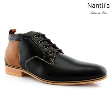 Zapatos para Hombre FA-KINGSTON Black Mayoreo Wholesale Men's Fashion Shoes Chukka Boots Nantlis