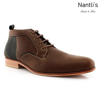 Zapatos para Hombre FA-KINGSTON Dark Brown Mayoreo Wholesale Men's Fashion Shoes Chukka Boots Nantlis
