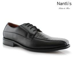 Zapatos para Hombre FA-KOBE Black Mayoreo Wholesale Men's Fashion Shoes Nantlis