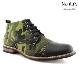 Zapatos para Hombre FA-LAMAR Black Mayoreo Wholesale Men's Fashion Shoes Chukka Boots Nantlis