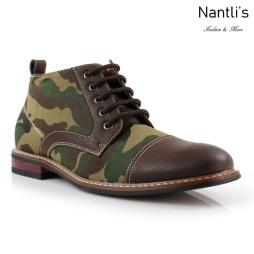 Zapatos para Hombre FA-LAMAR Brown Mayoreo Wholesale Men's Fashion Shoes Chukka Boots Nantlis