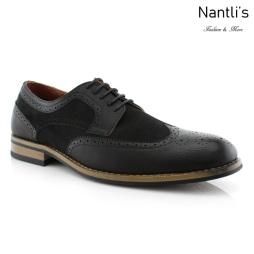 Zapatos para Hombre FA-LENNOX Black Mayoreo Wholesale Men's Fashion Shoes Nantlis