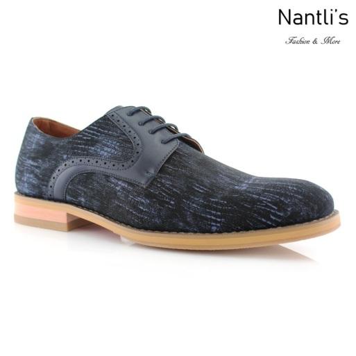 Zapatos para Hombre FA-LITO Blue Mayoreo Wholesale Men's Fashion Shoes Nantlis
