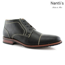 Zapatos para Hombre FA-LOGAN Black Mayoreo Wholesale Men's Fashion Shoes Chukka Boots Nantlis