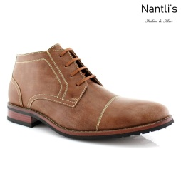 Zapatos para Hombre FA-LOGAN Brown Mayoreo Wholesale Men's Fashion Shoes Chukka Boots Nantlis