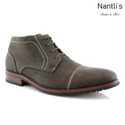 Zapatos para Hombre FA-LOGAN Grey Mayoreo Wholesale Men's Fashion Shoes Chukka Boots Nantlis