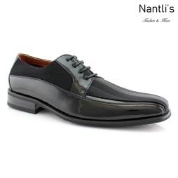 Zapatos para Hombre FA-LORENZO Black Mayoreo Wholesale Men's Fashion Shoes Nantlis