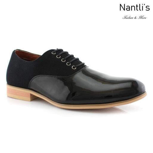 Zapatos para Hombre FA-MARCUS Black Mayoreo Wholesale Men's Fashion Shoes Nantlis