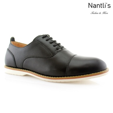 Zapatos para Hombre FA-MARSHALL Black Mayoreo Wholesale Men's Fashion Shoes Nantlis
