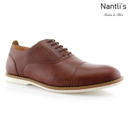Zapatos para Hombre FA-MARSHALL Brown Mayoreo Wholesale Men's Fashion Shoes Nantlis