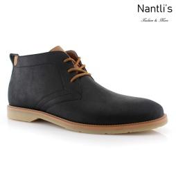 Zapatos para Hombre FA-Marvin Black Mayoreo Wholesale Men's Fashion Shoes chukka Boots Nantlis