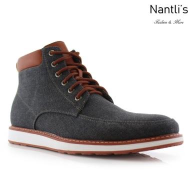 Zapatos para Hombre FA-MELVIN Black Mayoreo Wholesale Men's Fashion Shoes hi-top Sneakers Nantlis