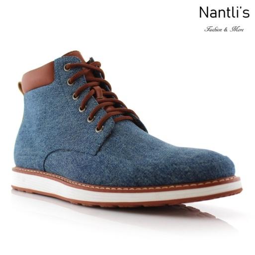 Zapatos para Hombre FA-MELVIN Blue Mayoreo Wholesale Men's Fashion Shoes hi-top Sneakers Nantlis