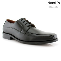 Zapatos para Hombre FA-NATHAN Black Mayoreo Wholesale Men's Fashion Shoes Nantlis