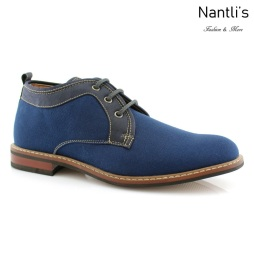 Zapatos para Hombre FA-NOAH Blue Mayoreo Wholesale Men's Fashion Shoes Chukka Boots Nantlis
