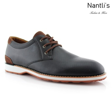 Zapatos para Hombre FA-NORRIS Black Mayoreo Wholesale Men's Fashion Shoes Nantlis