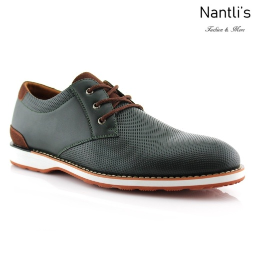 Zapatos para Hombre FA-NORRIS Green Mayoreo Wholesale Men's Fashion Shoes Nantlis