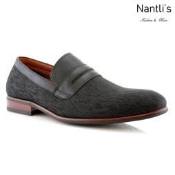 Zapatos para Hombre FA-OSO Black Mayoreo Wholesale Men's Fashion Shoes Nantlis