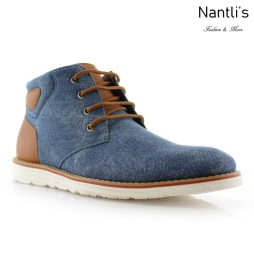 Zapatos para Hombre FA-OWEN Blue Mayoreo Wholesale Men's Fashion Shoes hi-top Sneakers Nantlis