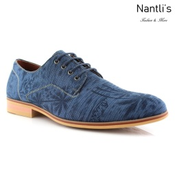 Zapatos para Hombre FA-PACO Blue Mayoreo Wholesale Men's Fashion Shoes Nantlis