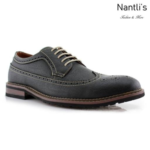 Zapatos para Hombre FA-PHILLIP Black Mayoreo Wholesale Men's Fashion Shoes Nantlis