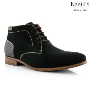 Zapatos para Hombre FA-RAYMOND Black Mayoreo Wholesale Men's Fashion Shoes Chukka Boots Nantlis