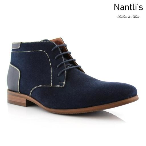 Zapatos para Hombre FA-RAYMOND Blue Mayoreo Wholesale Men's Fashion Shoes Chukka Boots Nantlis