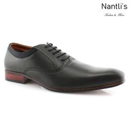Zapatos para Hombre FA-RICHARD Black Mayoreo Wholesale Men's Fashion Shoes Nantlis