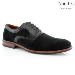 Zapatos para Hombre FA-ROBERT Black Mayoreo Wholesale Men's Fashion Shoes Nantlis