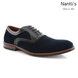 Zapatos para Hombre FA-ROBERT Blue Mayoreo Wholesale Men's Fashion Shoes Nantlis