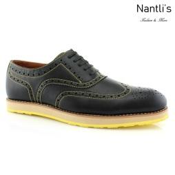 Zapatos para Hombre FA-ROGER Black Mayoreo Wholesale Men's Fashion Shoes Nantlis