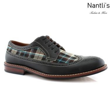 Zapatos para Hombre FA-RON Black Mayoreo Wholesale Men's Fashion Shoes Nantlis