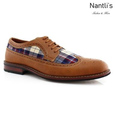 Zapatos para Hombre FA-RON Brown Mayoreo Wholesale Men's Fashion Shoes Nantlis