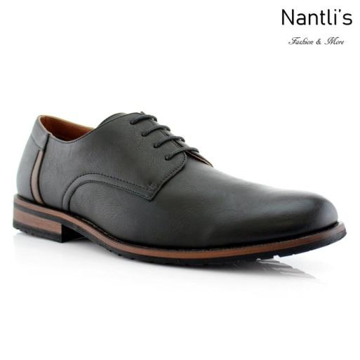 Zapatos para Hombre FA-RONNIE Black Mayoreo Wholesale Men's Fashion Shoes Nantlis