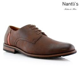 Zapatos para Hombre FA-RONNIE Brown Mayoreo Wholesale Men's Fashion Shoes Nantlis