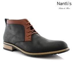 Zapatos para Hombre FA-SAINT Black Mayoreo Wholesale Men's Fashion Shoes Chukka Boots Nantlis