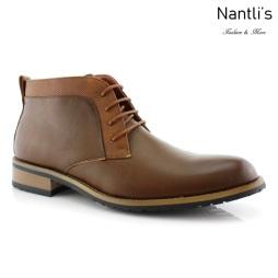Zapatos para Hombre FA-SAINT Brown Mayoreo Wholesale Men's Fashion Shoes Chukka Boots Nantlis