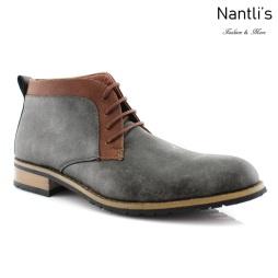 Zapatos para Hombre FA-SAINT Grey Mayoreo Wholesale Men's Fashion Shoes Chukka Boots Nantlis