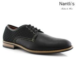 Zapatos para Hombre FA-SAUL Black Mayoreo Wholesale Men's Fashion Shoes Nantlis