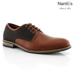 Zapatos para Hombre FA-SAUL Brown Mayoreo Wholesale Men's Fashion Shoes Nantlis