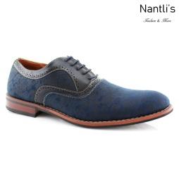 Zapatos para Hombre FA-SCOTT Blue Mayoreo Wholesale Men's Fashion Shoes Nantlis