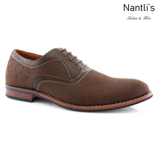 Zapatos para Hombre FA-SCOTT Brown Mayoreo Wholesale Men's Fashion Shoes Nantlis