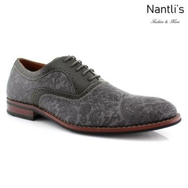 Zapatos para Hombre FA-SCOTT Grey Mayoreo Wholesale Men's Fashion Shoes Nantlis