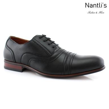 Zapatos para Hombre FA-SERGIO Black Mayoreo Wholesale Men's Fashion Shoes Nantlis