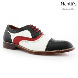 Zapatos para Hombre FA-SETH Black Mayoreo Wholesale Men's Fashion Shoes Nantlis