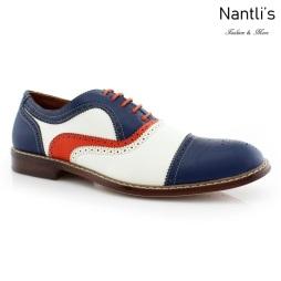 Zapatos para Hombre FA-SETH Blue Mayoreo Wholesale Men's Fashion Shoes Nantlis
