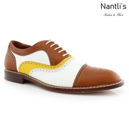 Zapatos para Hombre FA-SETH Brown Mayoreo Wholesale Men's Fashion Shoes Nantlis
