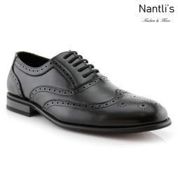 Zapatos para Hombre FA-SHELTON Black Mayoreo Wholesale Men's Fashion Shoes Nantlis