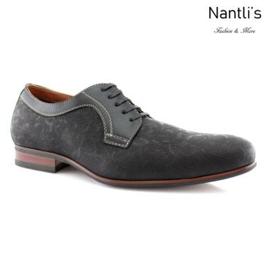 Zapatos para Hombre FA-SILAS Black Mayoreo Wholesale Men's Fashion Shoes Nantlis